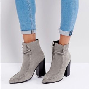 Sol Sana LF gray suede loafer dillan boot